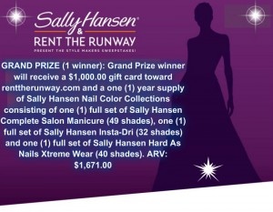 Coty US Sally Hansen Style Makers Sweepstakes