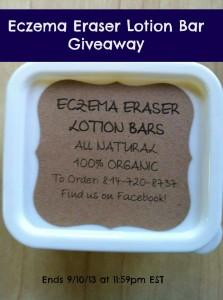 Eczema Eraser Bar Giveaway