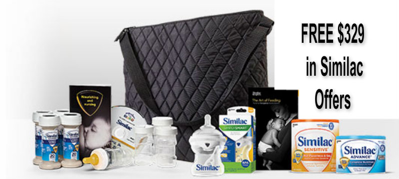 FREE $329 in Offers from Similac plus a FREE GIFT for Joining Today!!