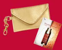 FREE Clarins Double Serum and Business Card Case
