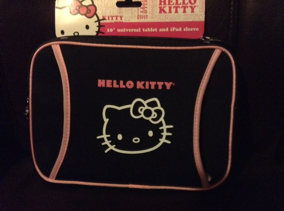 Hello Kitty Tablet and iPad Sleeve Giveaway ends 8/22