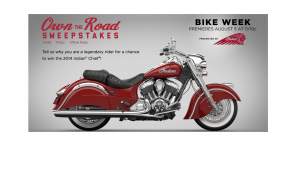 History Channel - Own the Road Sweepstakes