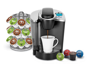 Keurig Brewer Starter Kit - K75 Platinum Brewer, Carousel & 3 Boxes of K-Cups Sweepstakes