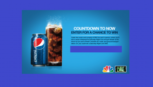 Pepsi Countdown To Now Sweepstakes