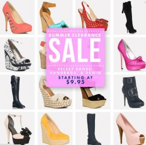 SHOES AS LOW AS $10