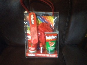 Twizzlers Sweet Scented Spa Set Giveaway