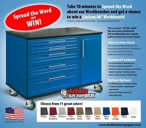 Win a Custom Work Bench