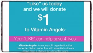 Your Like Can Help Save 4 Lives of Children Under 5 Years Old