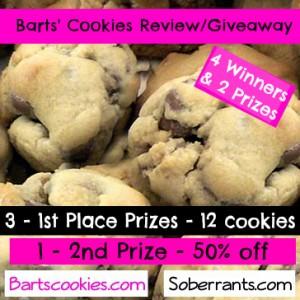 Barts Cookies Giveaway