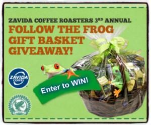 Zavida Coffee Basket Giveaway