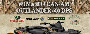 Bombardier, Drake Waterfowl, Mossy Oak and MPW ATV Giveaway