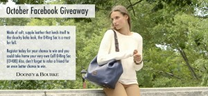 Dooney & Bourke October Facebook Giveaway