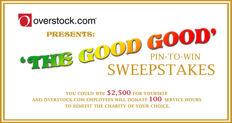 The Good Good Pin To Win Sweepstakes