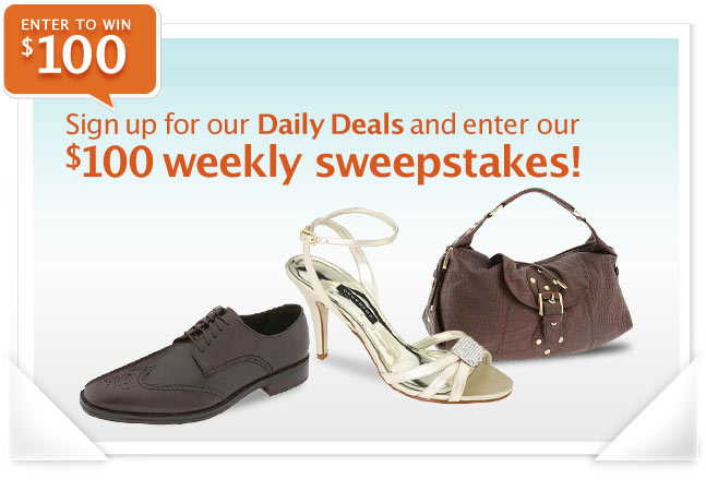 6pm.com Weekly Sweepstakes
