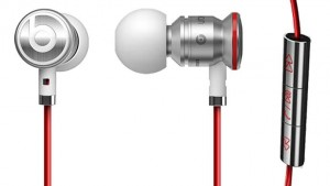 Beats by Dre urBeats Earbud Headphones with Tangle-Free Cables, In-Line Mic for Calls & Solid Metal Housing