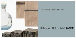 Domaine $2500 Sweepstakes