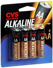 FREE AA or AAA Batteries at CVS