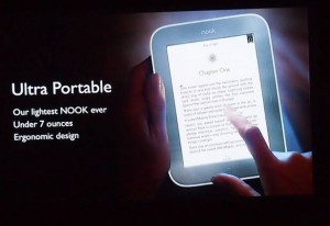 Get your FREE Simple Nook Touch E-Reader!