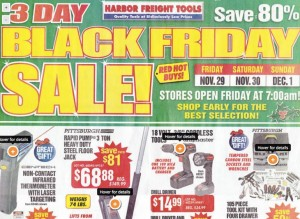 Harbor Freight Black Friday Deals