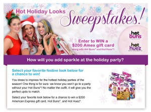 Hot Buns Hair - Hot Holiday Looks Sweepstakes