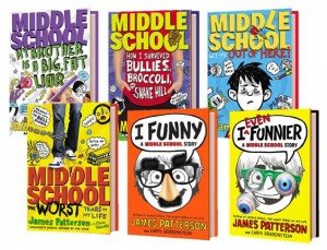 James Patterson Middle School Books Prize Pack Giveaway
