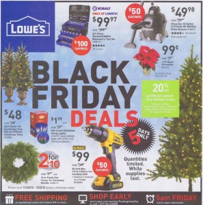 Lowes Black Friday Deals