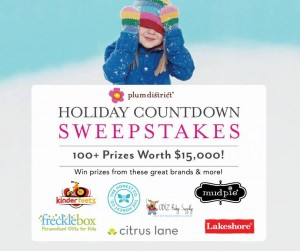 Plum District - Holiday Countdown Sweepstakes