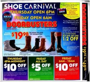 Shoe Carnival Black Friday Deals