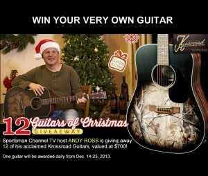 12 Guitars of Christmas Giveaway