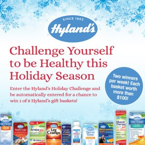Enter the @hylandshealth Holiday Challenge - #Win $100 in Products