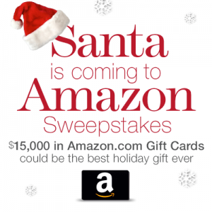 Santa is Coming to Amazon.com Sweepstakes