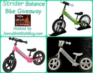 Strider Balance Bike Giveaway