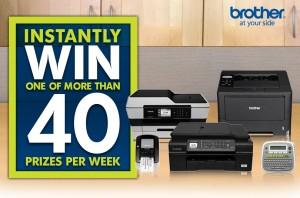 Brother Office Supply Closet Sweepstakes & Instant Win Game