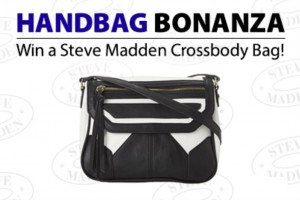 Enter to WIN a Steve Madden Cross Body Bag