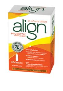 FREE 7-Count Box Of Align Probiotic
