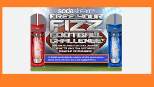 Free Your Fizz Football Challenge Sweepstakes