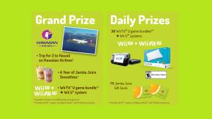 Jamba Juice Healthy Habits Kickstart Sweepstakes & Instant Win Game