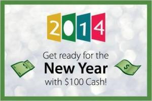 Win $100 Cash