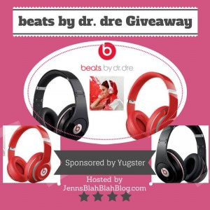 Beats by dre Giveaway $299 value