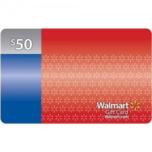 Enter to WIN a $50 Walmart Gift Card
