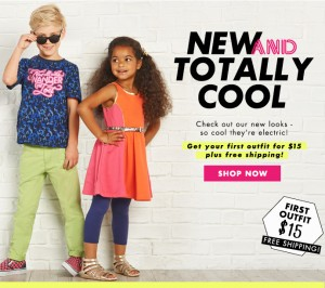 GET YOUR KIDS FIRST OUTFIT FOR ONLY $15! FREE SHIPPING!