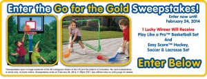 LittleTikes.com - Go for the Gold Sweepstakes