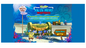 Nickelodeon SpongeBob Squarepants You're Hired Sweepstakes