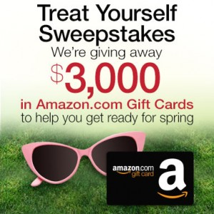 Treat Yourself Sweepstakes