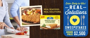 Gorton's - Real Solutions Sweepstakes
