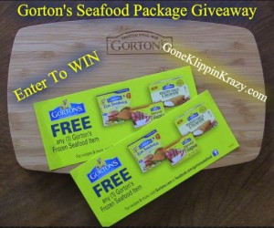 Gorton's Seafood Package Giveaway