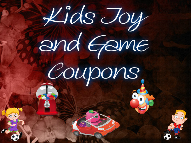 KIDS TOY COUPONS