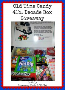 Old Time Candy 4lb Decade Box Giveaway