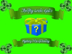 Thrifty 4nsic Gal's March 2014 Mystery Giveaway