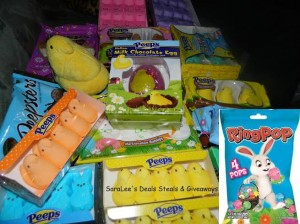 Easter Peeps & Ring Pops Giveaway